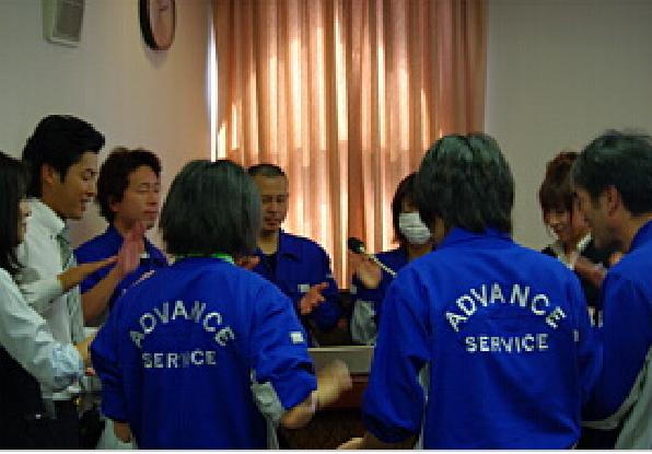 寺子屋勉強会中の写真2